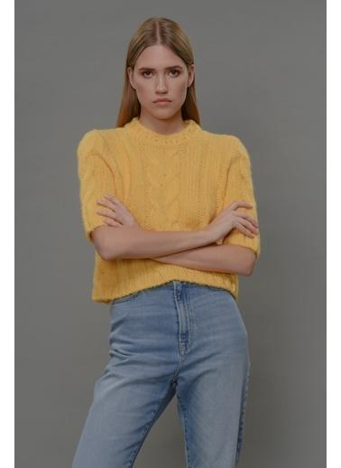 Faraway Fay Sweater Sarı